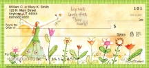 Click on Garden Graces  Personal Checks For More Details