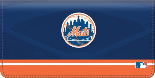 Click on New York Mets(TM) MLB(R) Checkbook Cover For More Details