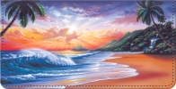 Click on Hawaiian Sunsets Checkbook Cover For More Details