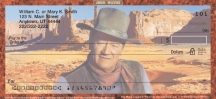 Click on John Wayne Horse Personal Checks For More Details