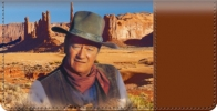 Click on John Wayne Horse Checkbook Cover For More Details