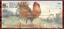 Click on Le Rooster  Personal Checks For More Details