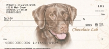 Click on Chocolate Lab Personal Checks For More Details