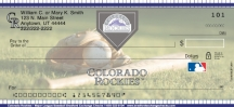 Click on Colorado Rockies(TM) Major League Baseball(R)  Checks For More Details