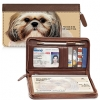 Click on Faithful Friends - Shih Tzu Zippered Checkbook Cover For More Details
