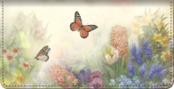 Click on Lena Liu's Butterfly Gardens Checkbook Cover For More Details