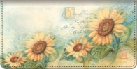 Click on Sunflowers Checkbook Cover For More Details