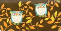 Click on Challis & Roos Awesome Owls Checkbook Cover For More Details