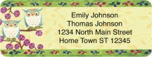 Click on Challis & Roos Awesome Owls Booklet of 150 Address Labels For More Details