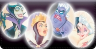 Click on Disney Legendary Villains Checkbook Cover For More Details