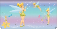 Click on Tinker Bell Magic! Checkbook Cover For More Details