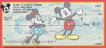 Click on Sketch Book Mickey Personal Checks For More Details