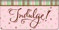 Click on Indulgence Checkbook Cover For More Details