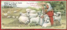 Click on Christian - The LORD is My Shepherd  Personal Checks For More Details