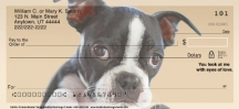 Click on Faithful Friends - Boston Terrier Dog Personal Checks For More Details