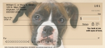 Click on Faithful Friends - Boxer Dog Personal Checks For More Details