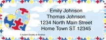 Click on Autism: Imagine Booklet of 150 Address Labels Personal Checks For More Details