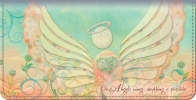 Click on Angels of the Heart Checkbook Cover For More Details