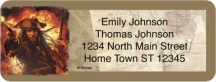 Click on Disney Labels - Pirates of the Caribbean Booklet of 150 Address Labels For More Details