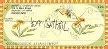 Click on Just Bee  Personal Checks For More Details