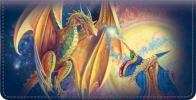 Click on Dragons and Wizards Checkbook Cover For More Details