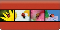 Click on Lady Bug Luck Checkbook Cover For More Details