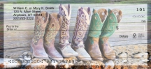 Click on Cowboy Boots  Checks For More Details