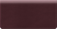 Click on Burgundy Classic Value Checkbook Cover For More Details