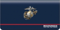 Click on USMC Checkbook Cover For More Details
