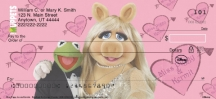Click on Miss Piggy Loves Kermie  Personal Checks For More Details