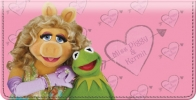 Click on Miss Piggy Loves Kermie Checkbook Cover For More Details