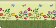 Click on Challis & Roos Blooming Gardens Checkbook Cover For More Details