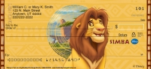 Click on The Lion King Personal Checks For More Details