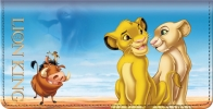 Click on The Lion King Checkbook Cover For More Details