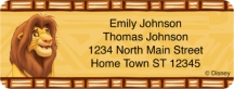 Click on The Lion King  Booklet of 150 Address Labels For More Details