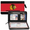 Click on Chicago Blackhawks(R) Logo NHL(R) Zippered Checkbook Cover For More Details