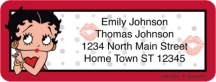 Click on Betty Boop Kiss Address Labels For More Details