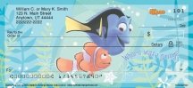 Click on Disney/Pixar Finding Nemo  Personal Checks For More Details