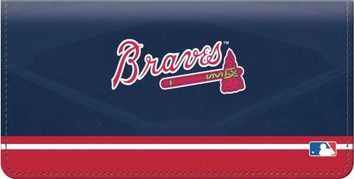 Braves vinyl Checkbook cover