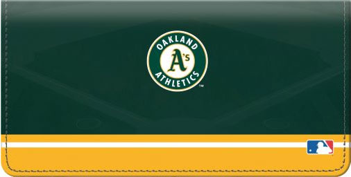 Click on Oakland Athletics(TM) MLB(R) Checkbook Cover For More Details