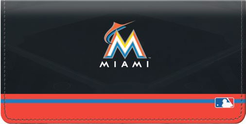 Click on Miami Marlins(TM) MLB(R) Checkbook Cover For More Details