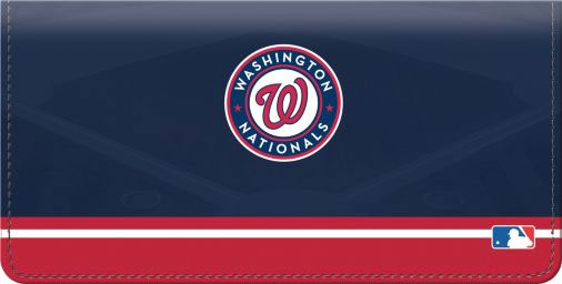 Click on Washington Nationals(TM) MLB(R) Checkbook Cover For More Details