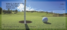 Click on Golf  Personal Checks For More Details