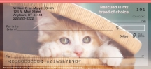 Click on Rescued is Something to Purr About  Personal Checks For More Details