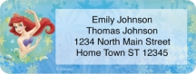 Click on The Little Mermaid Address Labels For More Details