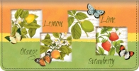 Click on Botanical Fruits Checkbook Cover For More Details