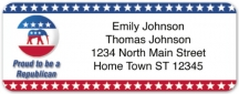 Click on Proud to be a Republican Address Labels For More Details