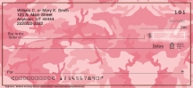 Click on Pink Camo  Personal Checks For More Details