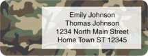 Click on Camouflage Address Labels For More Details