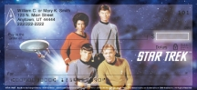 Click on Star Trek  Personal Checks For More Details